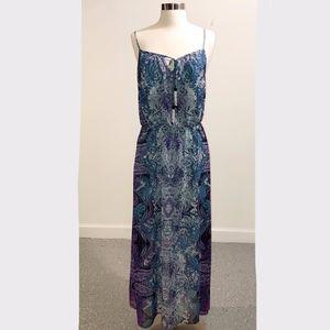 New Maggy London Paisley Maxi Dress
